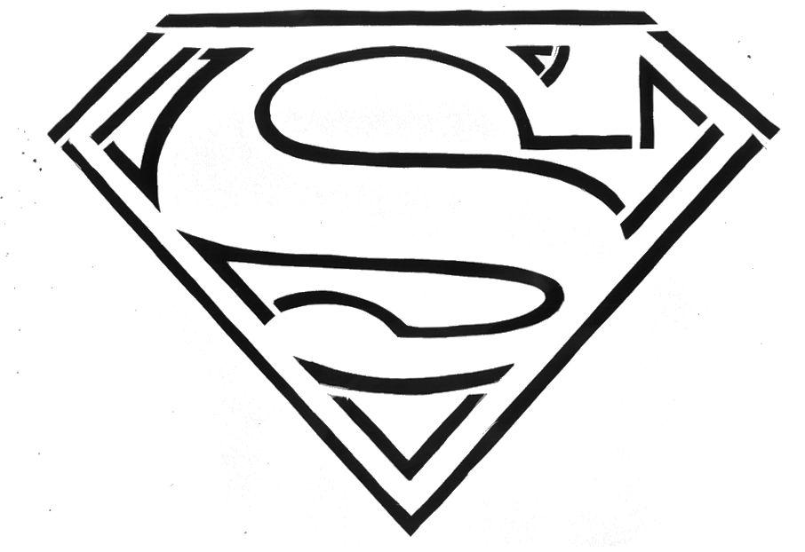 סמל סופרמן לצביעה