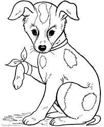 כלבה פצועה לצביעה