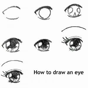 איך לצייר עין