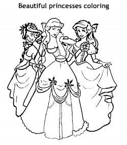 נסיכות יפות לצביעה