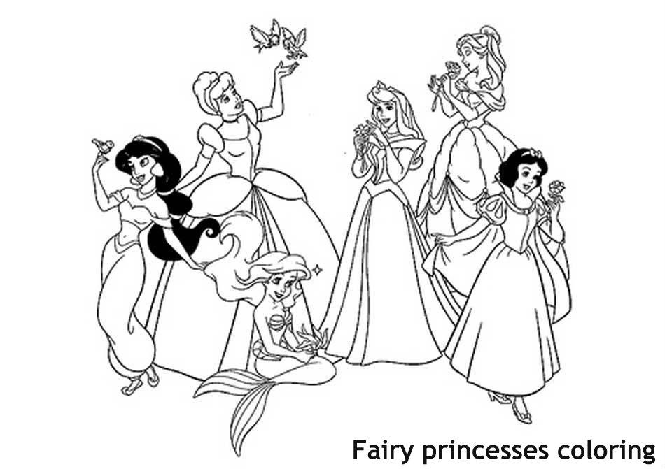 נסיכות מאגדות לצביעה